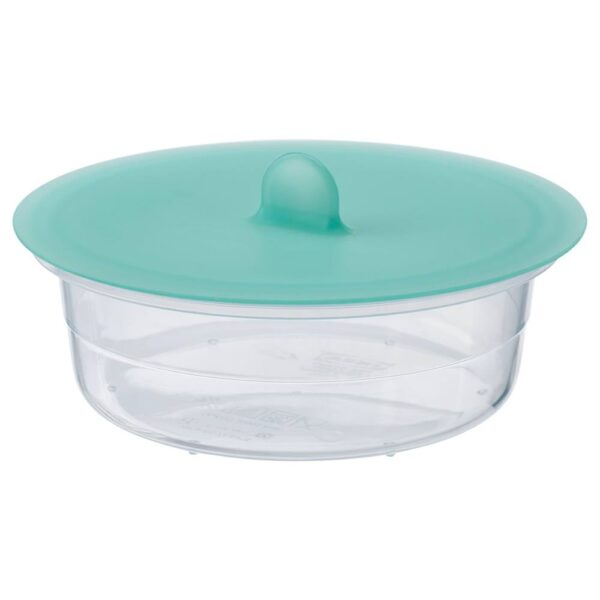 ИКЕА/365+ Контейнер для продуктов с крышкой, круглый пластик, силикон - 592.767.80