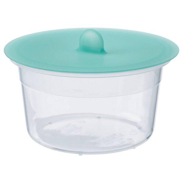 ИКЕА/365+ Контейнер для продуктов с крышкой, круглый пластик, силикон - 592.768.17