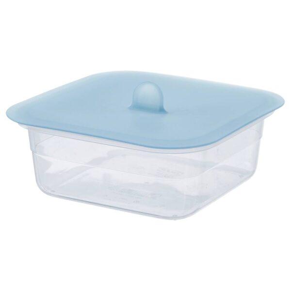 ИКЕА/365+ Контейнер для продуктов с крышкой, четырехугольной формы пластик, силикон - 592.767.56