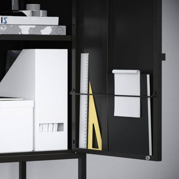ЛИКСГУЛЬТ Комбинация шкафов, серый/антрацит - 693.883.67