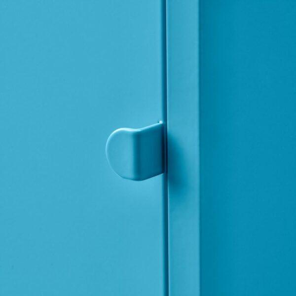 ЛИКСГУЛЬТ Шкаф, металлический/синий - 404.765.19
