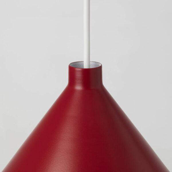 НЭВЛИНГЕ Подвесной светильник, темно-красный - 304.407.76