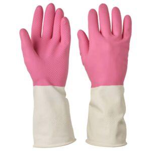 РИННИГ Хозяйственные перчатки, розовый - 504.767.74