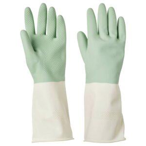 РИННИГ Хозяйственные перчатки, зеленый - 104.767.85
