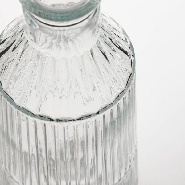 СЭЛЛЬСКАПЛИГ Графин с пробкой, прозрачное стекло/с рисунком - 904.729.10