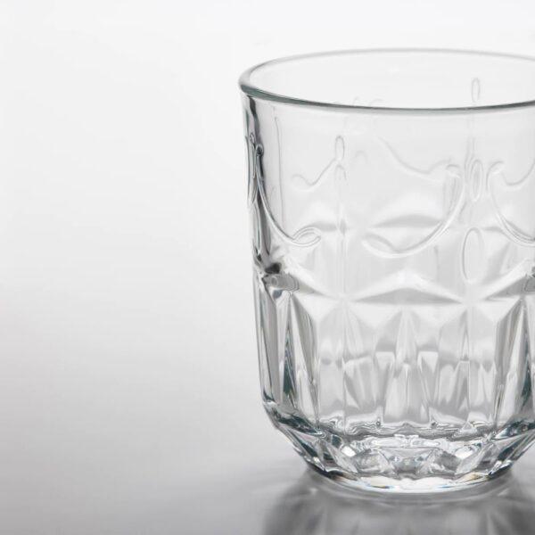 СЭЛЛЬСКАПЛИГ Стакан, прозрачное стекло/с рисунком - 604.729.02