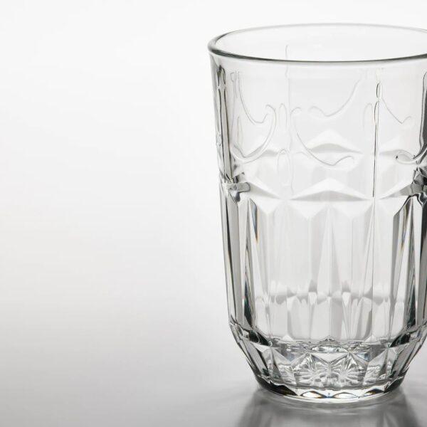СЭЛЛЬСКАПЛИГ Стакан, прозрачное стекло/с рисунком - 604.728.98