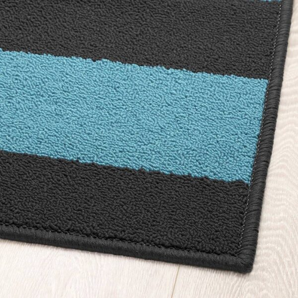 СТАВН Придверный коврик, серый/синий - 904.839.75