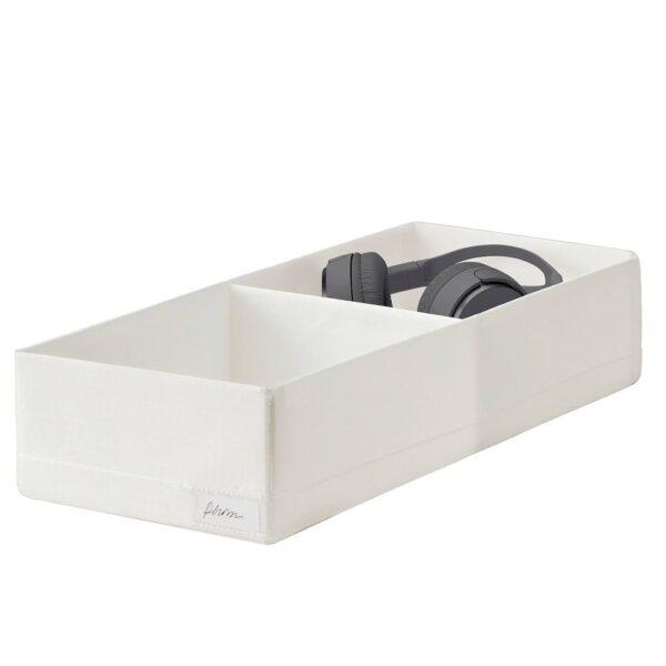 СТУК Ящик с отделениями, белый - 204.744.32