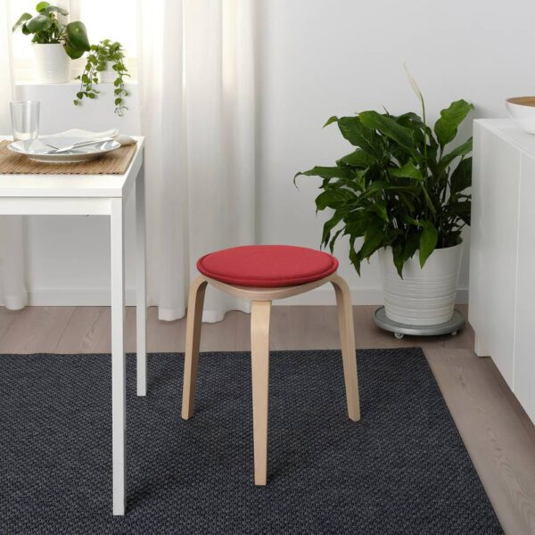 СУННЕА Подушка на стул, красный/Лофаллет - 604.778.86