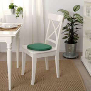 СУННЕА Подушка на стул, зеленый/Лофаллет - 604.776.93