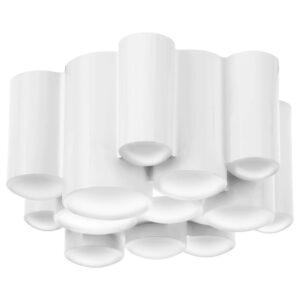 СЁДЕРСВИК Светодиодный потолочный светильник, регулируемая яркость полированный/белый - 204.562.25