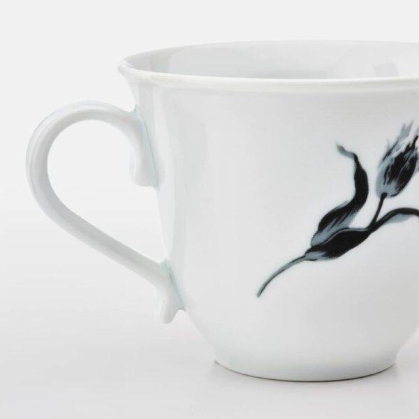 УППЛАГА Кружка, белый/с рисунком - 204.737.72