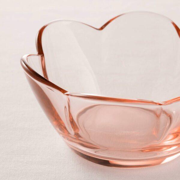 ВАНЛИГЕН Подсвечник для греющей свечи, светло-розовый - 004.644.48