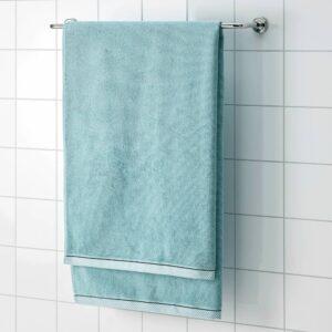 ВИКФЬЕРД Простыня банная, голубой - 904.753.72