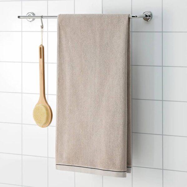 ВИКФЬЕРД Банное полотенце, темно-бежевый - 804.784.13