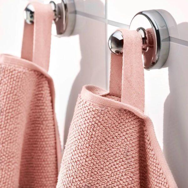 ВИКФЬЕРД Банное полотенце, светло-розовый - 404.753.41
