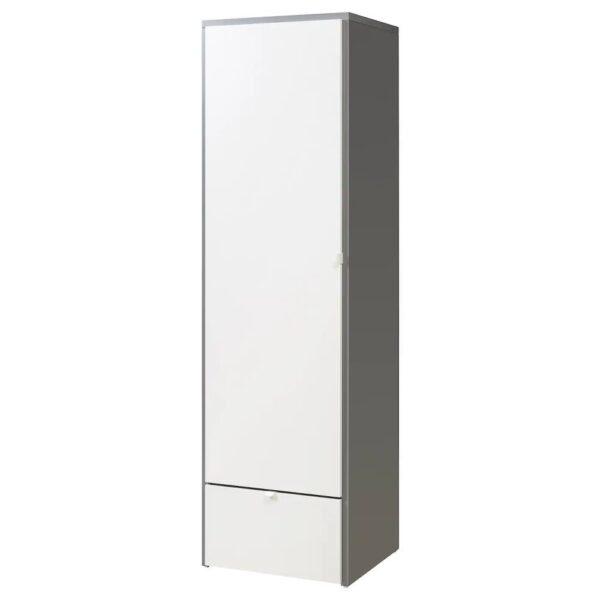 ВИСТХУС Гардероб, серый/белый - 204.935.34