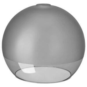 ЯКОБСБЮН Абажур для подвесн светильника, матовое стекло/серый - 404.949.00