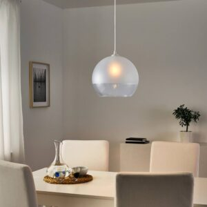 ЯКОБСБЮН Абажур для подвесн светильника, матовое стекло - 104.948.93