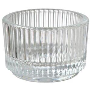 FINSMAK Подсвечник для греющей свечи, прозрачное стекло 3.5 см - 604.709.84