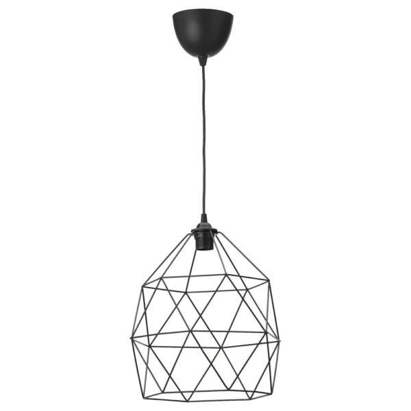 БРЮНСТА / ХЕММА Подвесной светильник, черный 30 см - 992.917.69