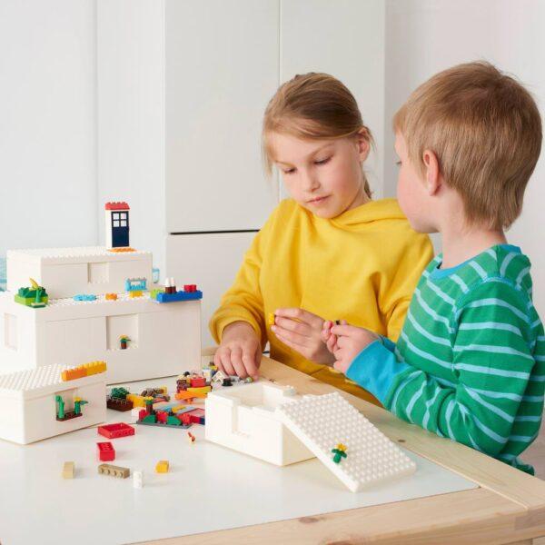 БЮГГЛЕК LEGO® контейнер с крышкой 35x26x12 см - 704.534.08