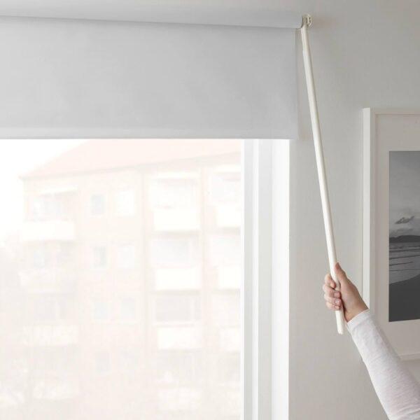 ФРИДАНС Рулонная штора, блокирующая свет , белый 160x195 см - 603.968.71