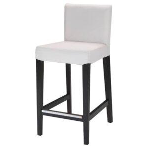 ХЕНРИКСДАЛЬ Барный стул, темно-коричневый 74 см - 104.261.30