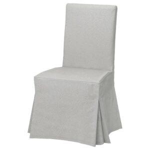 ХЕНРИКСДАЛЬ Чехол для стула, длинный, Рамна светло-серый - 003.708.74