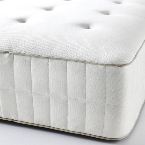 ХОККОСЕН Матрас с пружинами карманного типа, очень жесткий/белый 180x200 см - 504.849.67