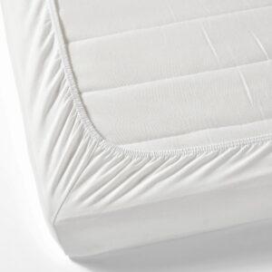 ЛЕН Простыня натяжная, белый 70x160 см - 604.870.84