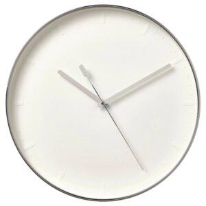 МАЛЛХОППА Настенные часы, серебристый 35 см - 004.745.03