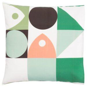 МУССЕЛЬБЛОММА Чехол на подушку, разноцветный 50x50 см - 004.951.43