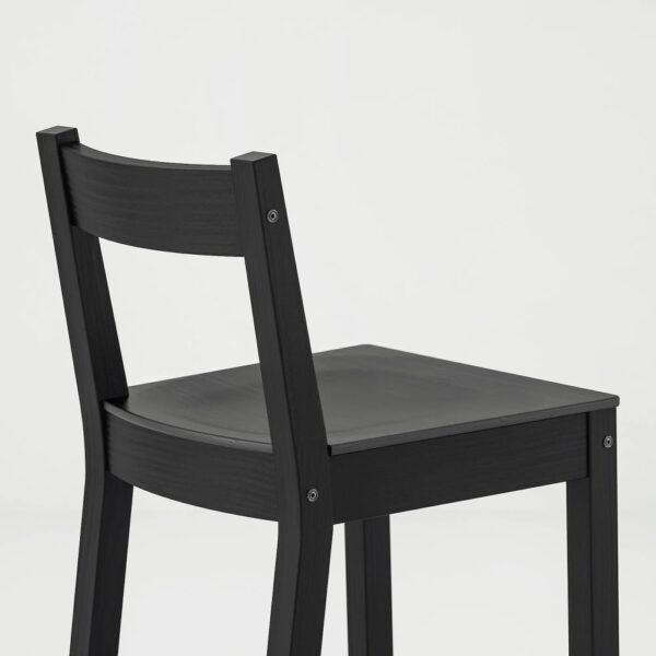НОРДВИКЕН Барн стол+4 барн стула, черный/черный - 293.335.22
