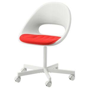 ПЮНТЕН Подушка на сиденье, красный 41x43 см - 104.792.46