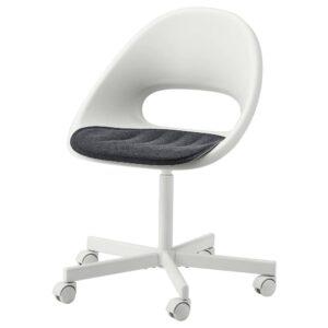 ПЮНТЕН Подушка на сиденье, темно-серый 41x43 см - 104.732.06