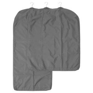 СКУББ Чехол для одежды, 3 штуки, темно-серый - 304.729.70
