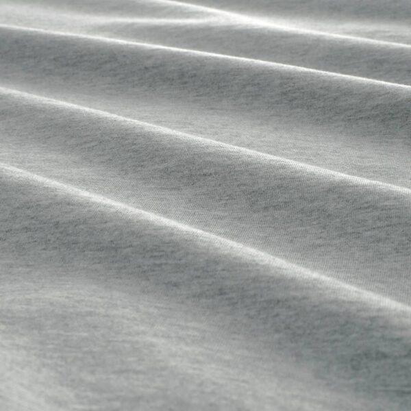 СПЬЮТВИАЛ Пододеяльник и 2 наволочки, светло-серый/меланж 200x200/50x70 см - 704.797.76
