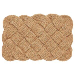 СТАВРЕБЮ Придверный коврик для дома, ручная работа/спираль естественный 40x60 см - 404.810.16