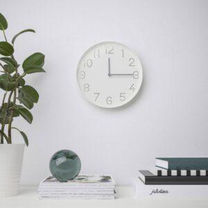 ТРОММА Настенные часы, белый 25 см - 404.542.92