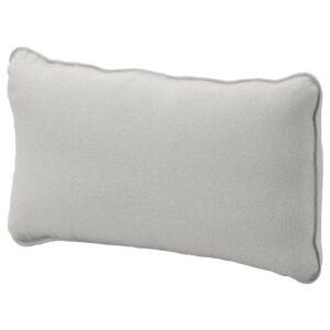 ВАЛЛЕНТУНА Чехол на подушку спинки, Оррста светло-серый - 103.295.44