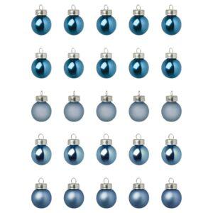 ВИНТЕРФЕСТ Украшение, шар, синий 2 см - 104.374.83