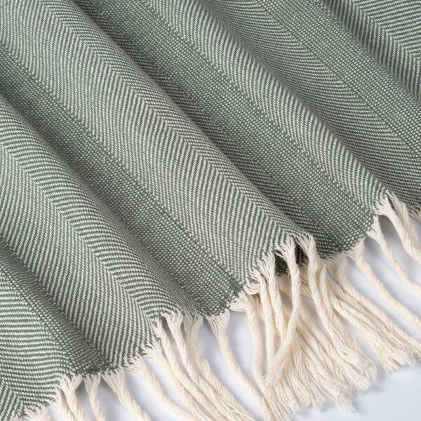 ГЕРХИЛЬД Плед, зеленый 130x170 см - 204.998.28