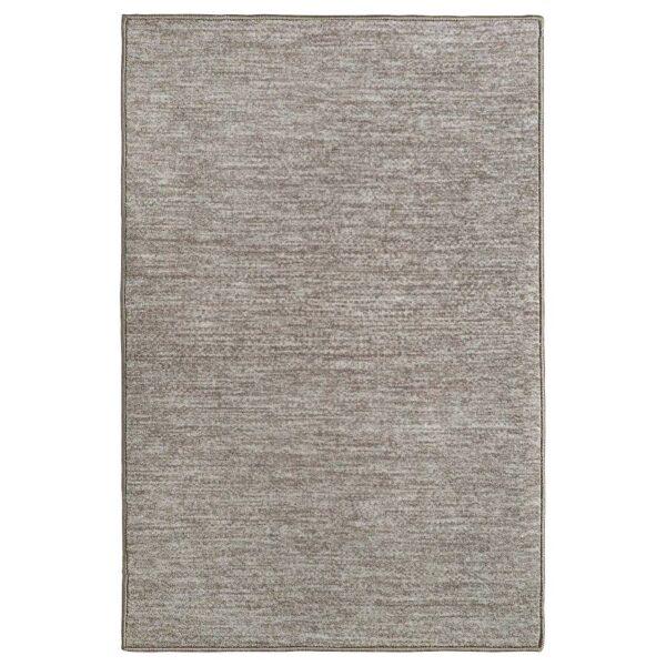 ГЕРЛЕВ Ковер, короткий ворс, меланж/серый 80x125 см - 504.897.81