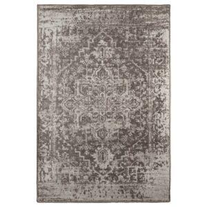ГЕРЛЕВ Ковер, короткий ворс, с рисунком/серый 80x125 см - 104.897.83