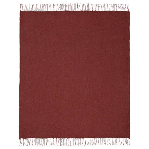 ГУЛЬКЛИНТ Плед, темно-красный 150x200 см - 404.998.27