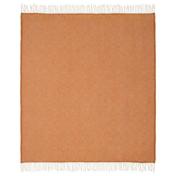 ИНГЕЛЁВ Плед, бежевый/коричневый 140x180 см - 704.954.89