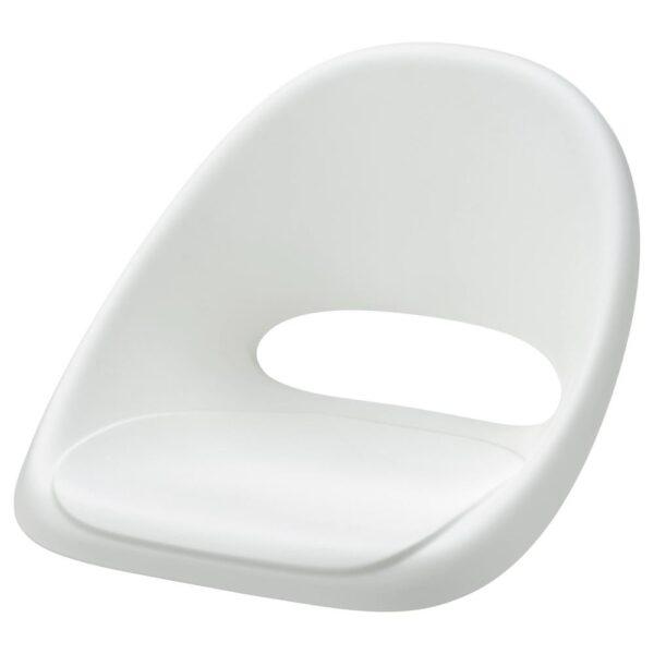 ЛОБЕРГЕТ Сиденье детского стула, белый - 004.604.07
