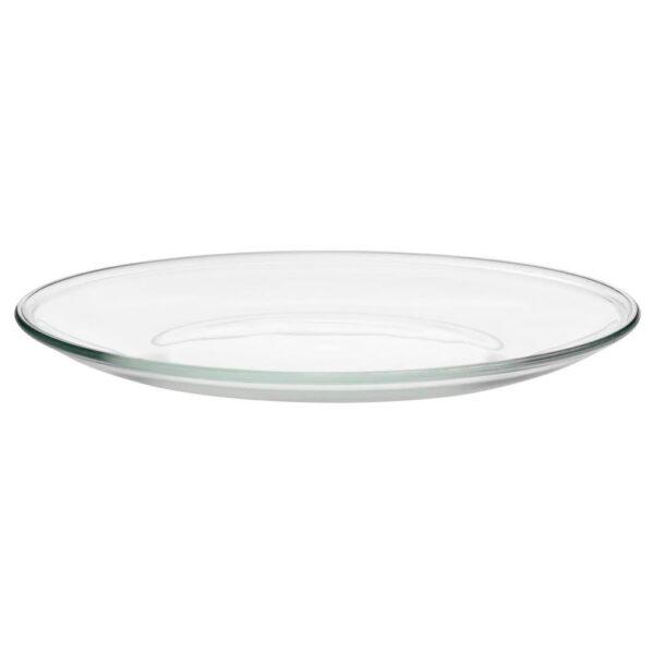 ОППЕН Тарелка, прозрачное стекло 23 см - 701.880.70